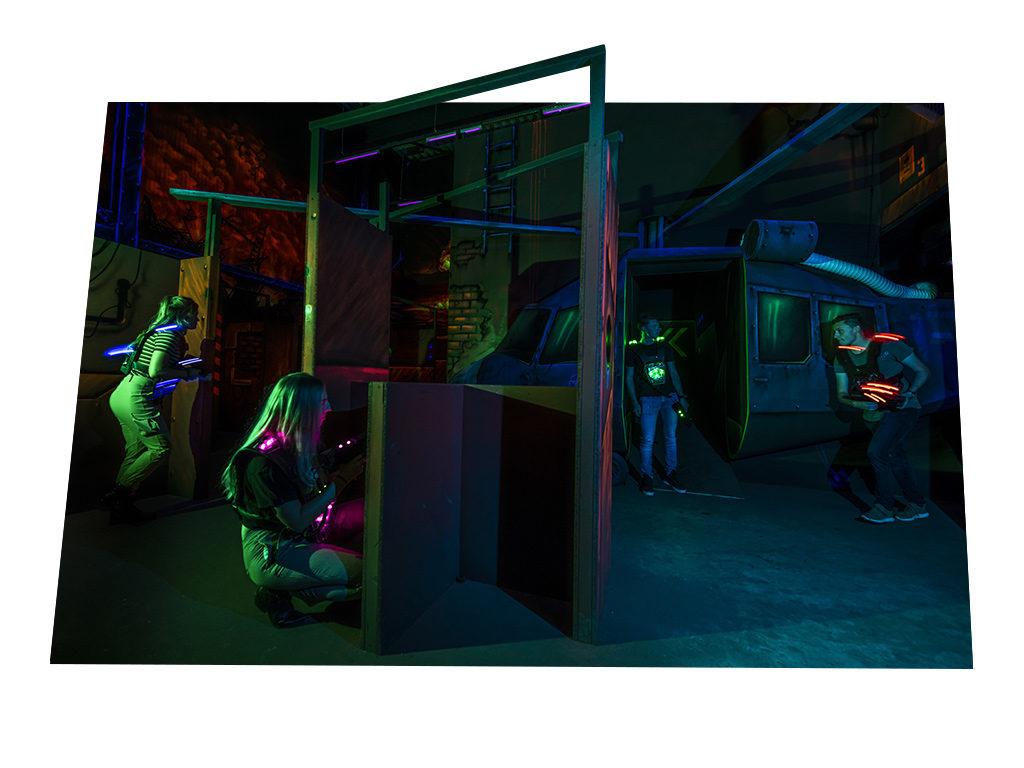 Lasergamen bij FEC Sevenum