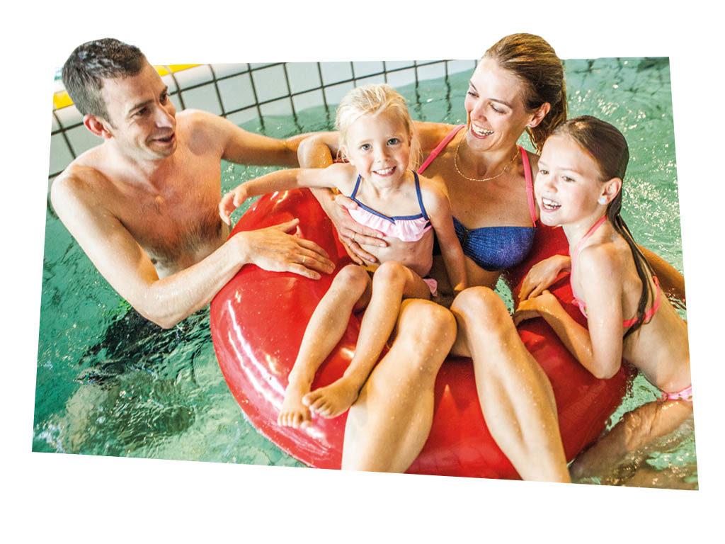Zwemmen met het hele gezin bij De Schatberg