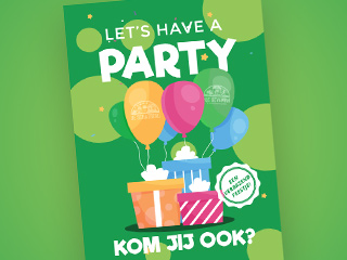 Let's have a party (Groen)