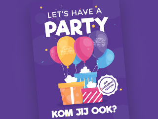 Let's have a party (Paars)